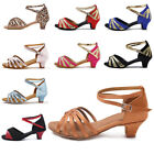 Внешний вид - Brand New Ballroom heeled Latin Dance Shoes for Women/Children/Girls/Tango&Salsa