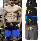 Mens Sport Running Basketball Shorts with Pockets Drawstring Breathable Gym Wear