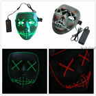 The Purge Election Year Movie Rave Mask Party Festival Halloween Costume Cosplay