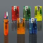 Windproof Turbo Jet Gas Lighter Refillable Cigarette Double Two Flame Lighters