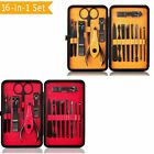 16 in 1 PROFESSIONALManicure Pedicure Set Nail Clippers Kits  New