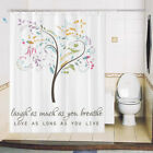 Shower curtain custom made design printing brightent Love as long XQ645