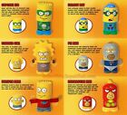 NEW The Simpsons Super Heroes 2013 Burger King Toy Bart Milhouse Homer ~You Pick