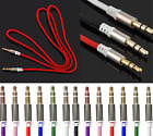 3.5mm Male To Male Car Aux Auxiliary Cord Stereo Audio Cable For Phone Ipod ~