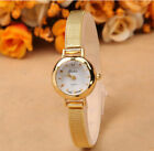 Fashion Women's Lady Bracelet Stainless Steel Crystal Dial Quartz Wrist Watches image