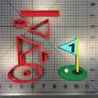 Golf Hole 100 Cookie Cutter Set