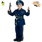 Cool Police Officer Costumes Boys Policeman&Cop&Patrol Man C