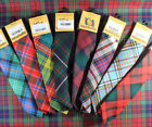 NEW PURE WOOL HIGHLANDWEAR SCOTTISH CLAN TARTAN NECK TIE IN OVER 170 TARTANS!