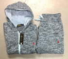 Ralph Lauren Polo Sweat Suit for Women Stone Teal Top & Bottom Brand New w/ Tags