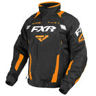FXR™ Men's Octane Black/Orange Jacket Snowmobile 170006-1030-XX