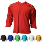 Внешний вид - New Reebok / CCM Youth 3/4 Sleeve Air-Knit Hockey Practice Jersey in 7 Colors