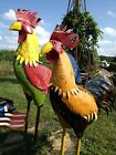 """6' 5"""" Giant Rooster Barn Yard Chicken sold in 2 Color Choices"""