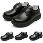 New Boys Formal Shoes Black Parties Weddings Dress Brogues Childs School Shoes