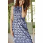 New blue print White Stuff Sketch Book lined dress tunic great quality. RRP £55