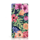 DYEFOR FLOWERS FLORAL COLLECTION PRINT PHONE CASE COVER FOR SONY XPERIA