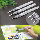 3 Size Water Brush Pen Paint For Calligraphy Watercolor Calligraphy Reusable