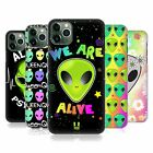 HEAD CASE DESIGNS ALIEN EMOJI HARD BACK CASE FOR APPLE iPHONE PHONES
