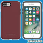Genuine OtterBox Symmetry case cover iPhone 8 Plus Tough Fine Port Dark Red NEW