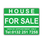 House FOR SALE Correx Sign Boards Estate Agent Property Signs X 2 (CORCP00030)