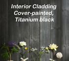 Redwood black titanium Timber Shiplap cladding Tongued and Grooved See Postcodes