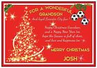 Personalized Leicester Inspired Christmas Card (2 Designs) - Gorgeous !