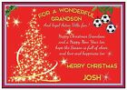 Personalized Aston Villa Inspired Christmas Card (2 Designs) - Gorgeous !