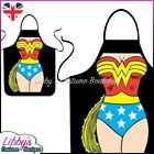 Wonder Woman DC Comics Superhero Novelty Funny Apron Adult Cooking BBQ Chef