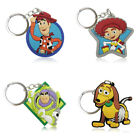 4pcs/set Toy Story Cute Cartoon Figure Key Chain PVC Key Ring Key Holder Pendant