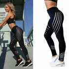 Sexy Women's Yoga Fitness Leggings Running Gym Stretch Sports Pants Trousers US