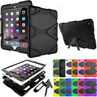Heavy Duty Hard Stand Protective Cover Case For iPad 2017 Mini 1 2 3 4 Air 2 Pro