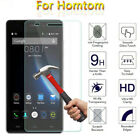 100% GENUINE TEMPERED GLASS FILM SCREEN PROTECTOR FOR HOMTOM VARIOUS MODELS