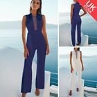 Women Ladies Clubwear Autumn Playsuit Bodycon Party Jumpsuit Romper Trousers
