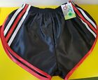 Nylon Glanz Satin SPRINTER Short Small-XXXXL 70s & 80s Retro, Black, White&Blue