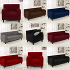 1-4 Seats Stretch Twill Sofa Loveseat&Chair Slipcovers Home Decor Cushion Cover