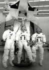 Neil Armstrong,  Buzz Aldrin & Michael Collins UNSIGNED photo - K3304 - Apollo 11