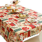 Christmas Xmas Party Table Cloth Rectangle Mat Placemat Home Decor 150*180cm HX