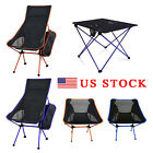 Lightweight Foldable Portable Table Chair Ultra Light Camping Travel Beach Seat