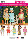 sewing patterns dolls clothes