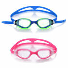 2pcs Adult Swimming Swim Goggles Clear PC Lenses Anti Fog UV Protected