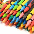 72/144/288 Assorted Crayons Class Pack New Kids Wax Toy 12 Different Colours