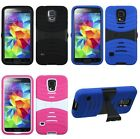 For Galaxy S5 S 5 Symbiosis Dual Layered Protective Case wit