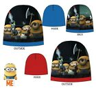 Official Boys Despicable Me Minions Beanie Hat 52cm & 54cm (Ages 3-6 and 7-12)
