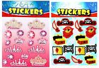 Princess + Pirate Stickers - Party