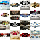 5Pcs Unframed Modern Art Oil Paintings Canvas Print Wall Pictures Home Decor