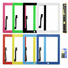 For iPad 3rd Gen Replacement Touch Screen Digitizer Glass Panel + Adhesive+Tools