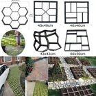 5 Style pathmate Paving Pavement Mold Concrete Stepping Stone Path Walk Maker