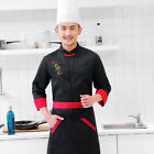Chef Coat Chinese style Uniforms Long sleeves Restaurant Hotel Men Worker 2018