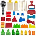 CoolSand Building Sand Molds and Tool Kit - Works with all Play Sand