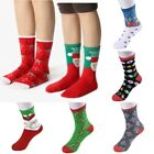 Women Christmas XMAS  Deer Winter Socks Comfy  Thermal Cotton Socks HX