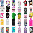 3D Cartoon Gel Soft Silicone Rubber Case Cover Skin For Samsung iPhone 8 7Plus x